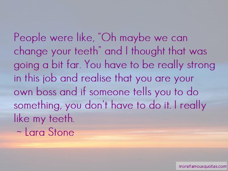 Lara Stone Quotes Pictures 2