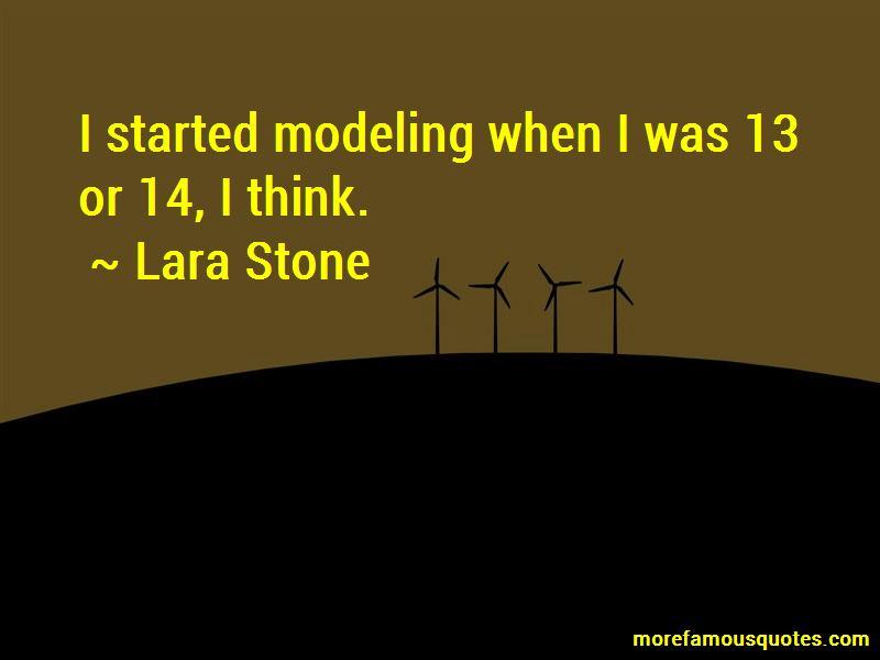Lara Stone Quotes Pictures 3
