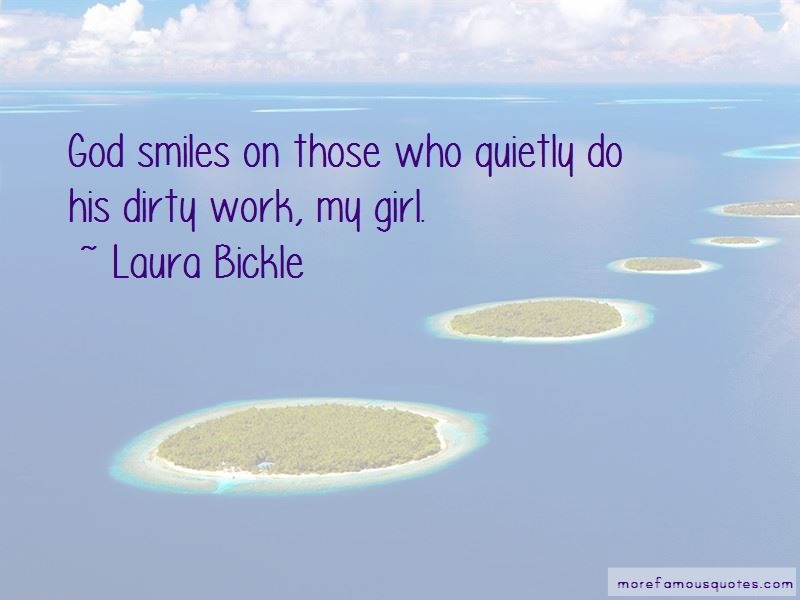 Laura Bickle Quotes