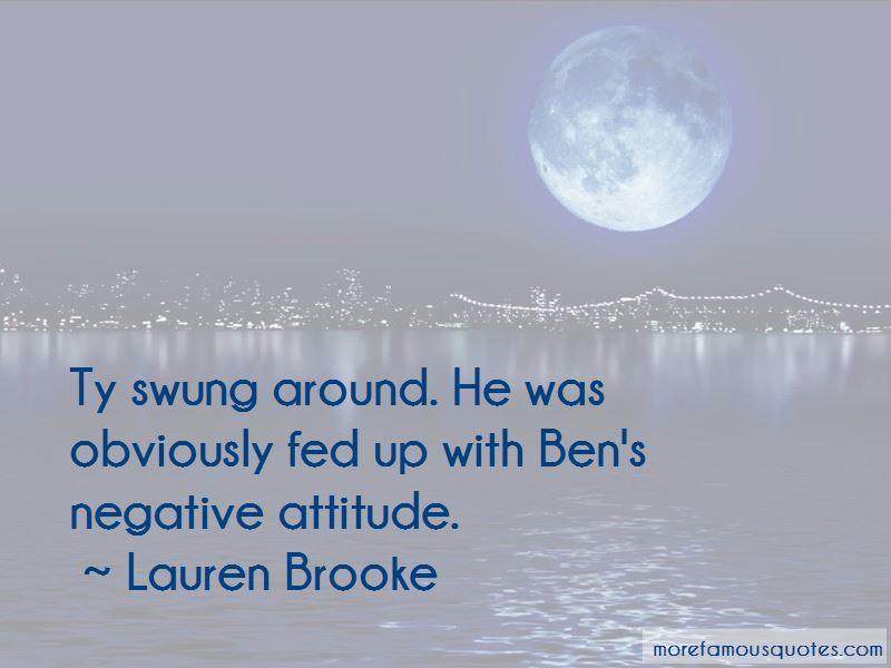 Lauren Brooke Quotes