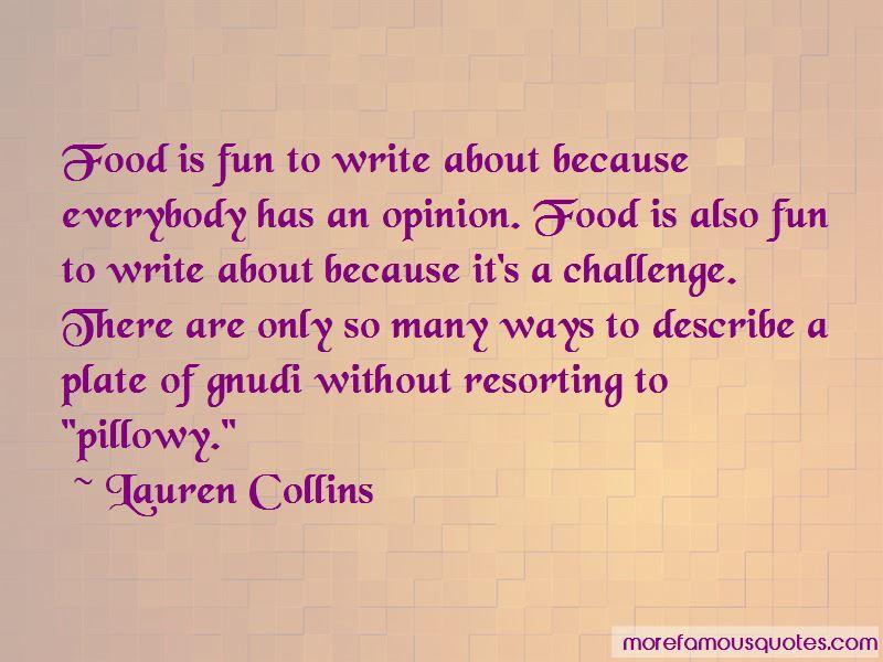 Lauren Collins Quotes