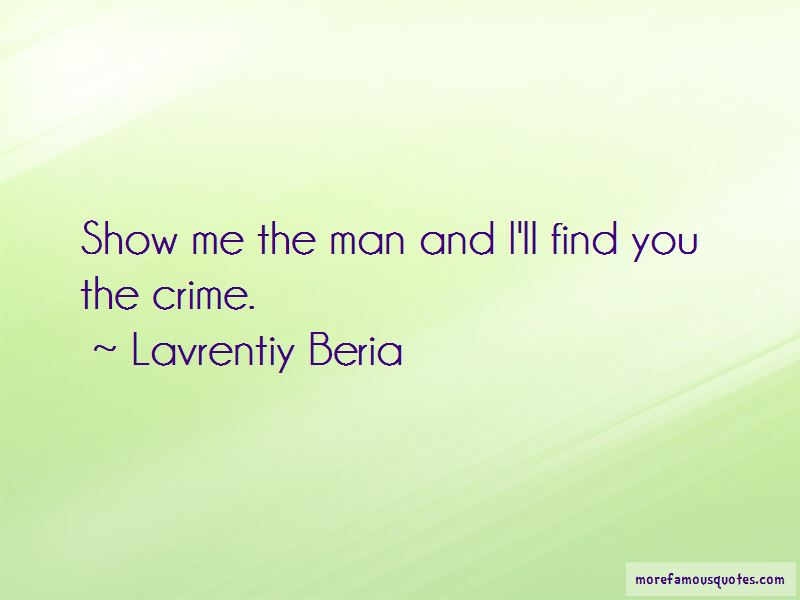 Lavrentiy Beria Quotes Pictures 4
