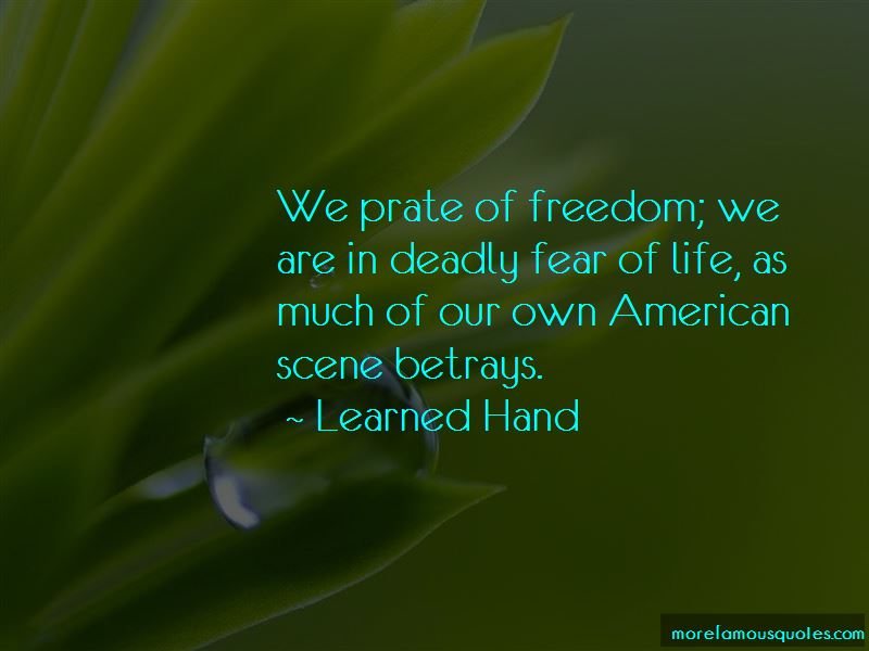 Learned Hand Quotes Pictures 4