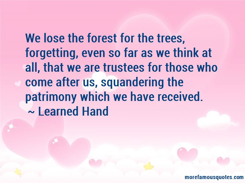 Learned Hand Quotes