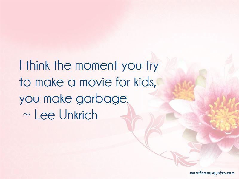 Lee Unkrich Quotes Pictures 4