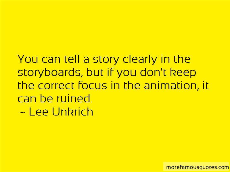 Lee Unkrich Quotes