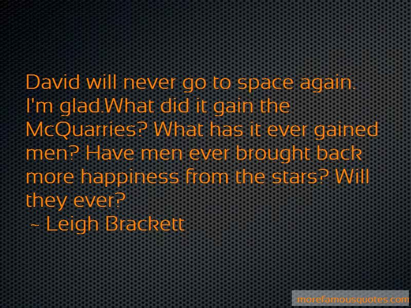 Leigh Brackett Quotes Pictures 4