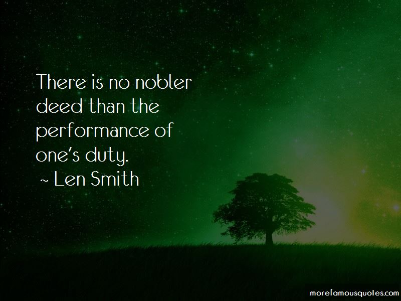 Len Smith Quotes Pictures 2