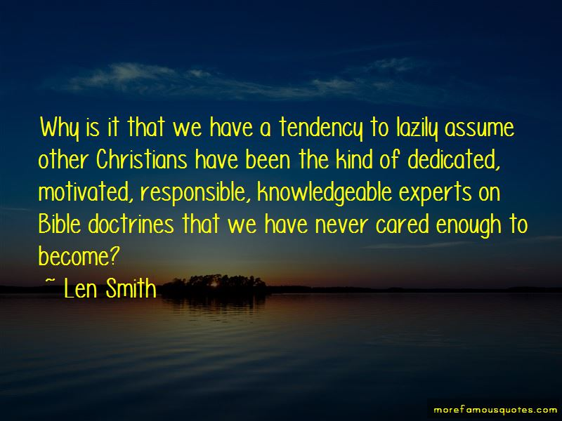 Len Smith Quotes Pictures 3