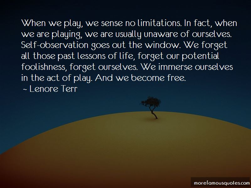 Lenore Terr Quotes