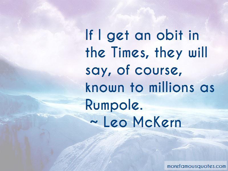 Leo McKern Quotes Pictures 2