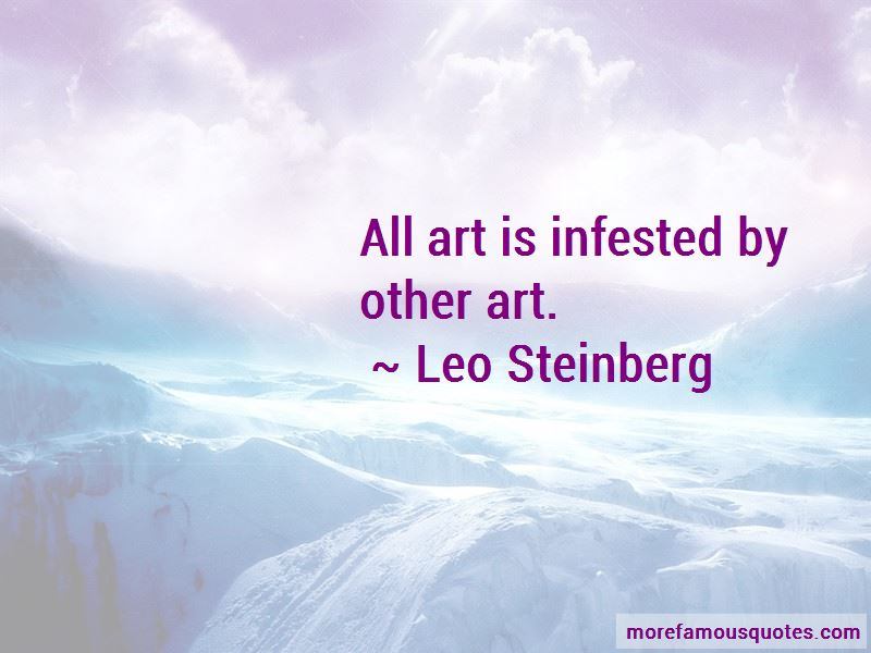 Leo Steinberg Quotes Pictures 2