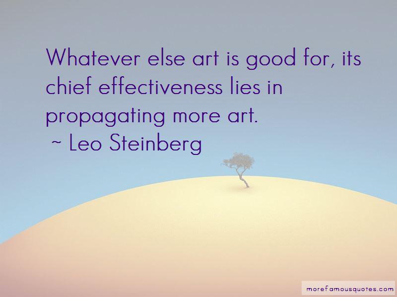 Leo Steinberg Quotes