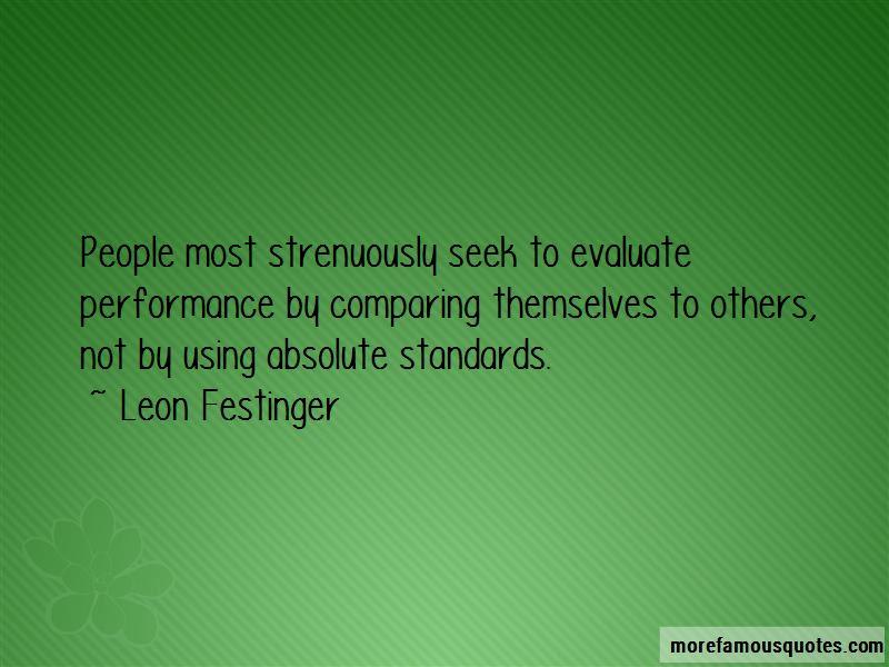 Leon Festinger Quotes Pictures 4