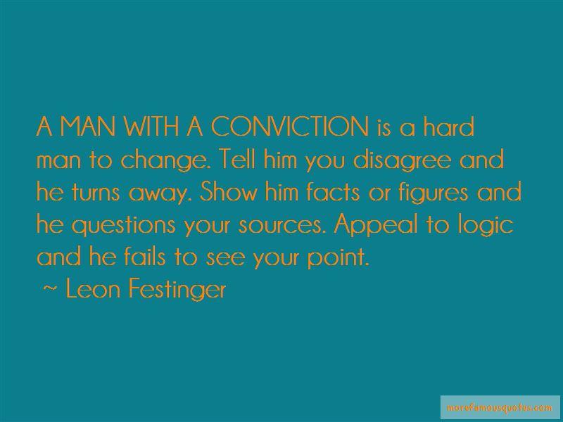 Leon Festinger Quotes