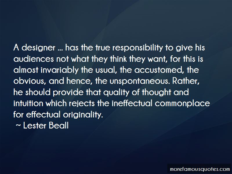 Lester Beall Quotes Pictures 3