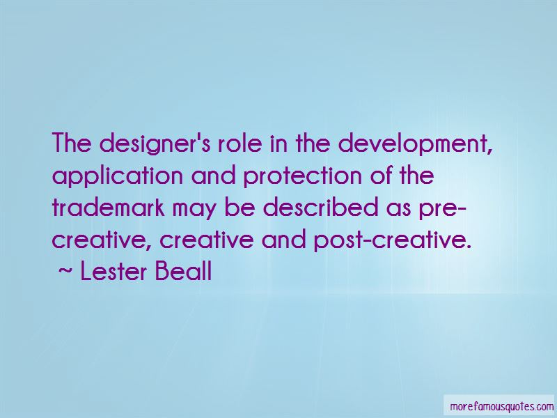 Lester Beall Quotes