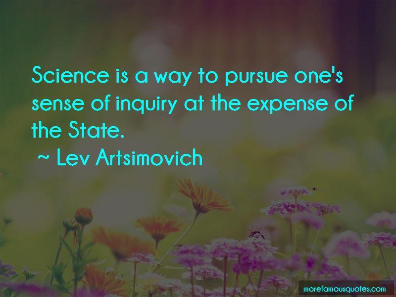 Lev Artsimovich Quotes Pictures 3