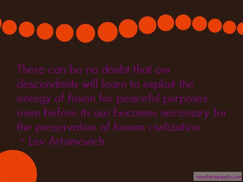 Lev Artsimovich Quotes Pictures 4