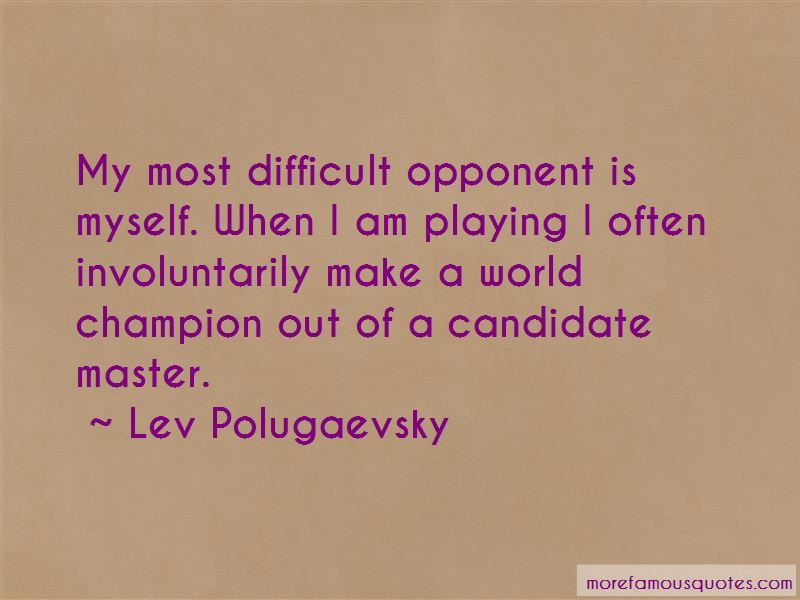 Lev Polugaevsky Quotes Pictures 2