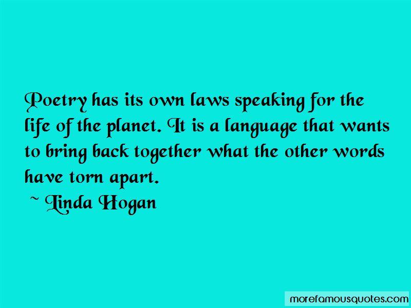Linda Hogan Quotes Pictures 4