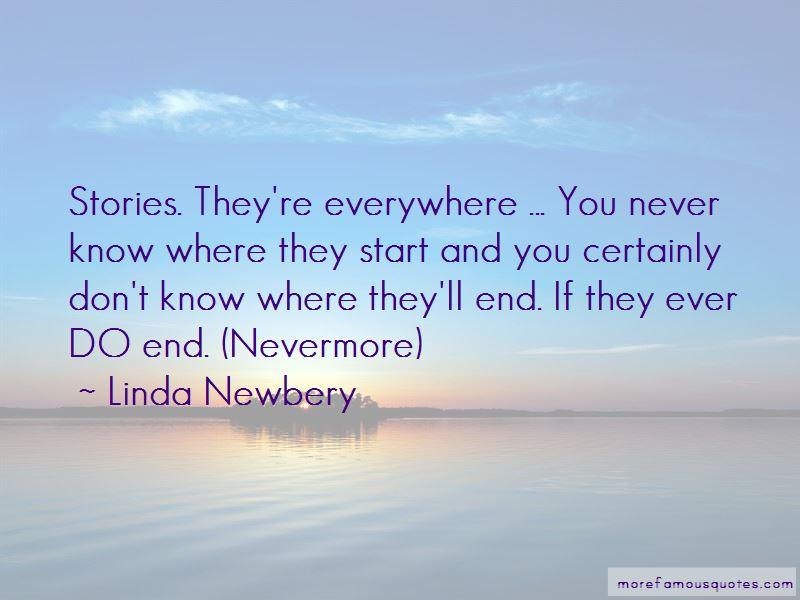 Linda Newbery Quotes