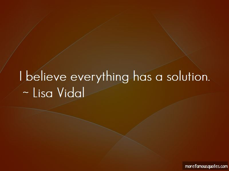 Lisa Vidal Quotes Pictures 4