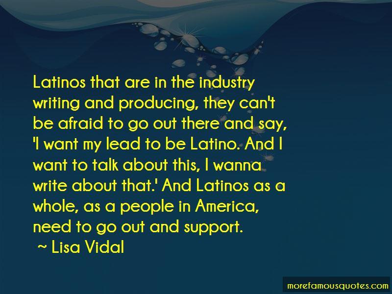 Lisa Vidal Quotes