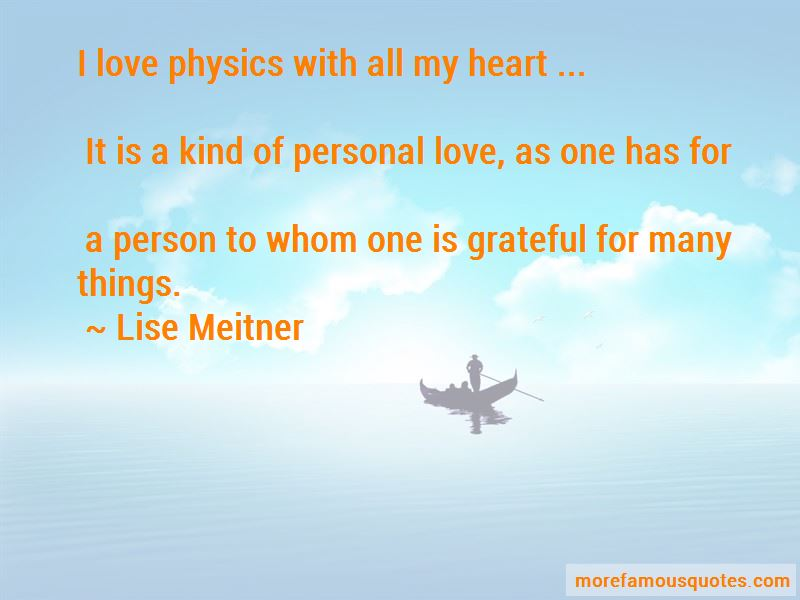 Lise Meitner Quotes Pictures 2