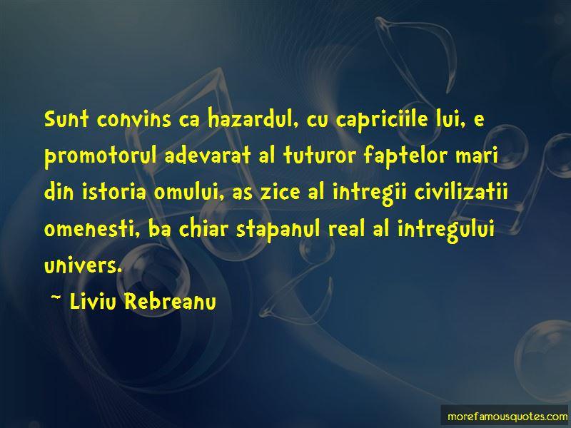 Liviu Rebreanu Quotes