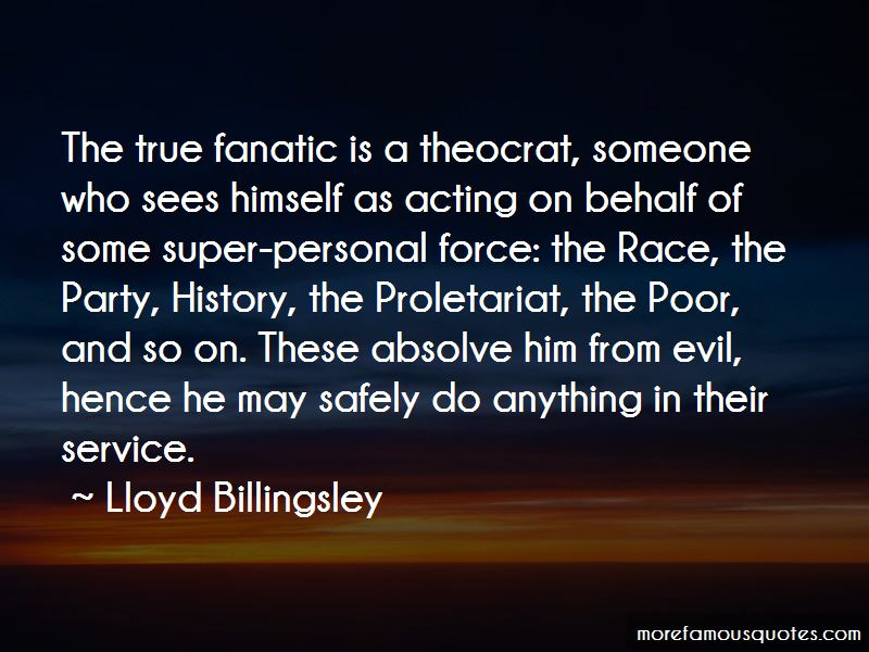 Lloyd Billingsley Quotes Pictures 2