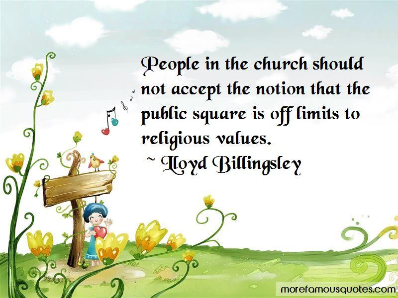 Lloyd Billingsley Quotes