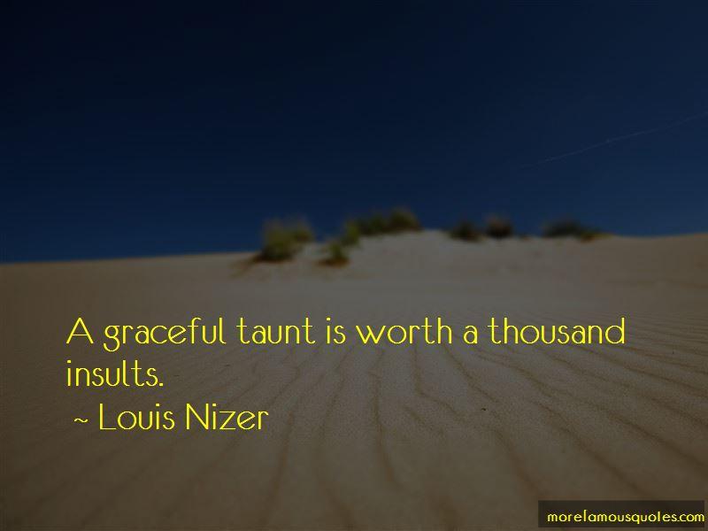 Louis Nizer Quotes Pictures 4