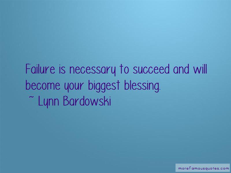 Lynn Bardowski Quotes