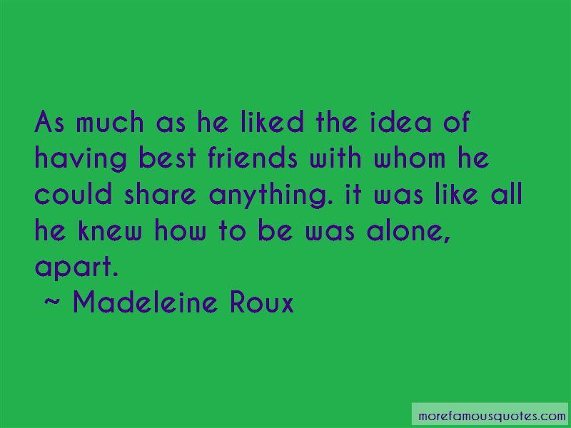 Madeleine Roux Quotes
