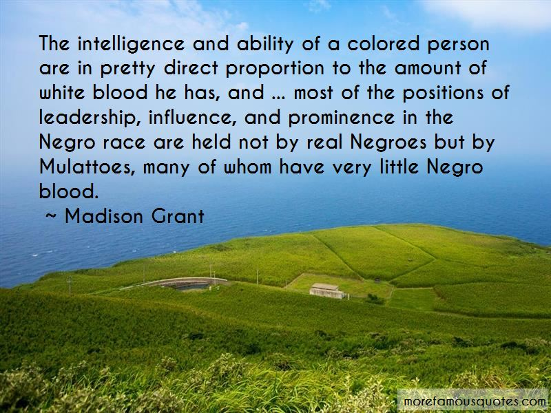 Madison Grant Quotes
