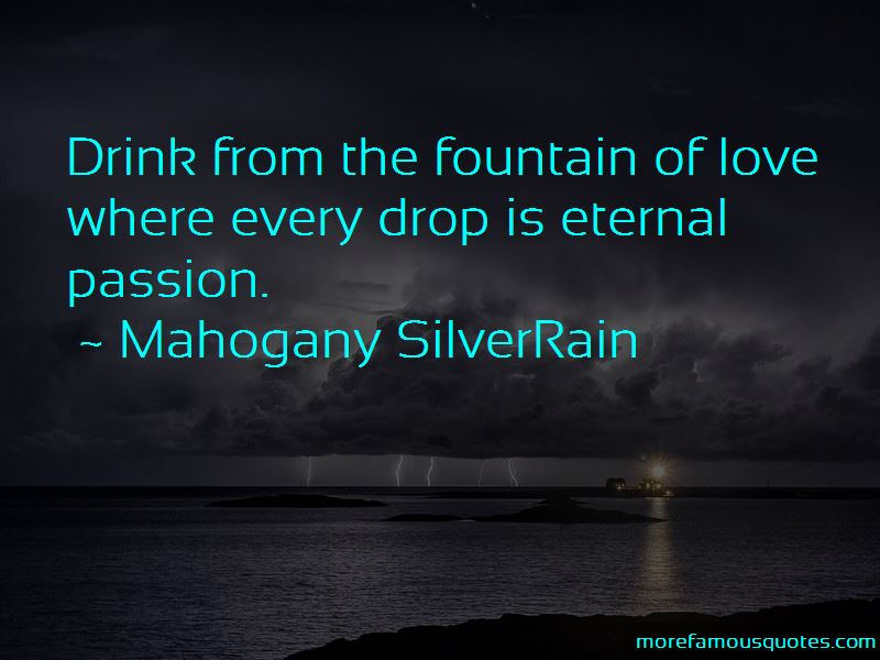 Mahogany SilverRain Quotes Pictures 3