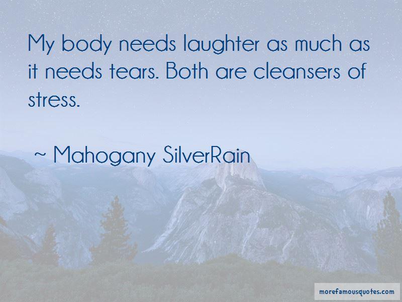 Mahogany SilverRain Quotes