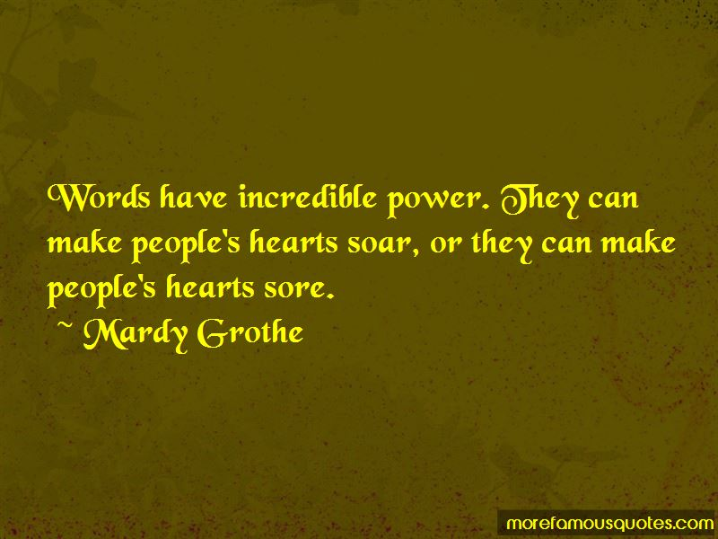 Mardy Grothe Quotes