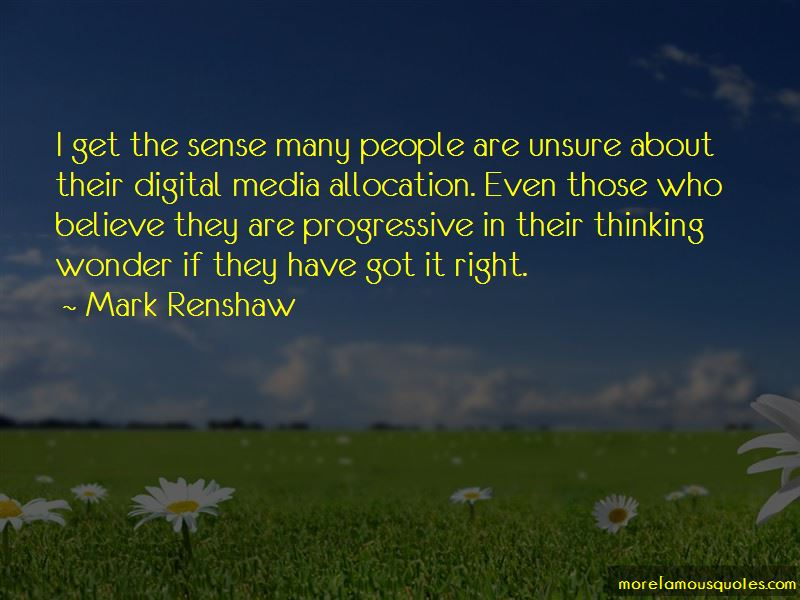 Mark Renshaw Quotes