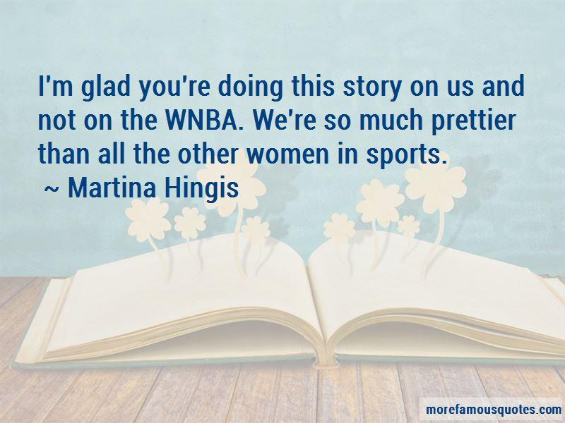 Martina Hingis Quotes Pictures 2