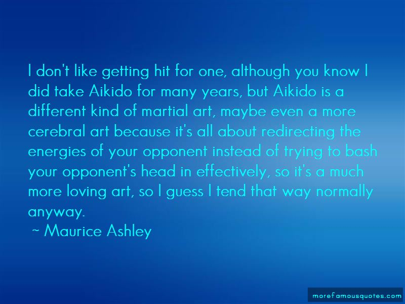 Maurice Ashley Quotes Pictures 3