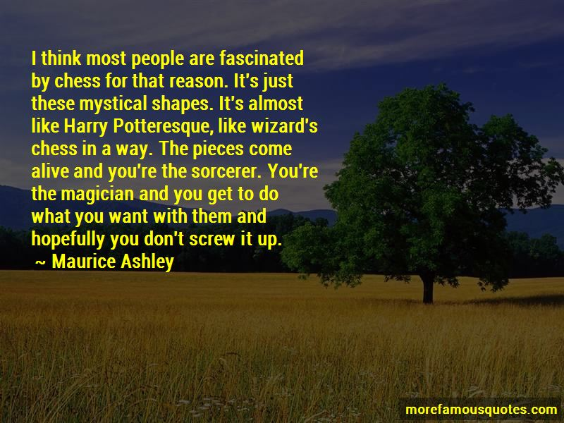 Maurice Ashley Quotes Pictures 4