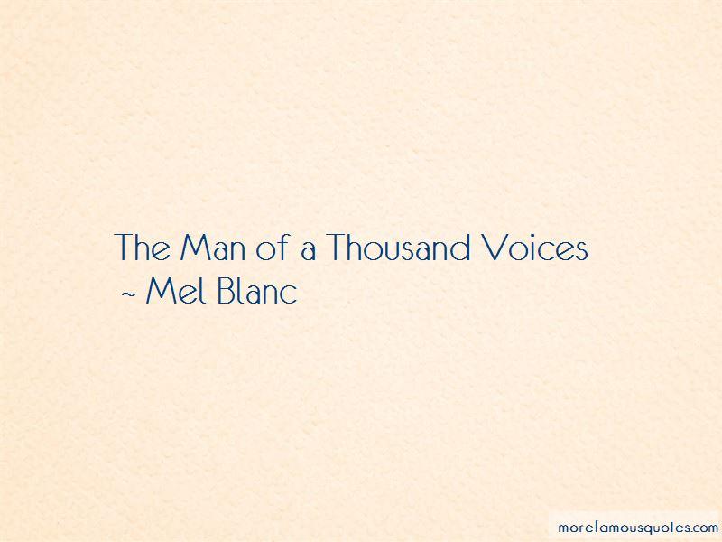 Mel Blanc Quotes Pictures 2