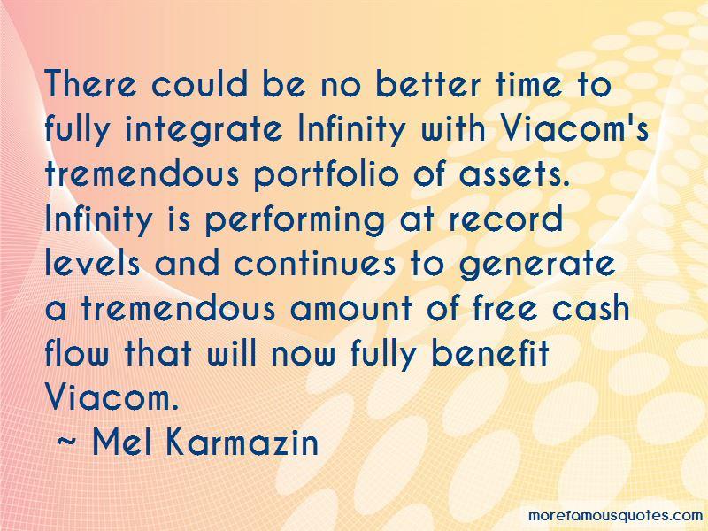 Mel Karmazin Quotes Pictures 4