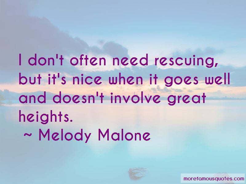 Melody Malone Quotes Pictures 2