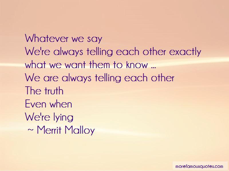 Merrit Malloy Quotes Pictures 4