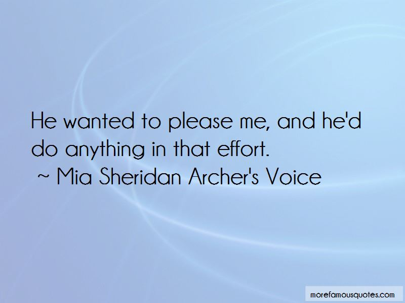 Mia Sheridan Archer's Voice Quotes Pictures 2