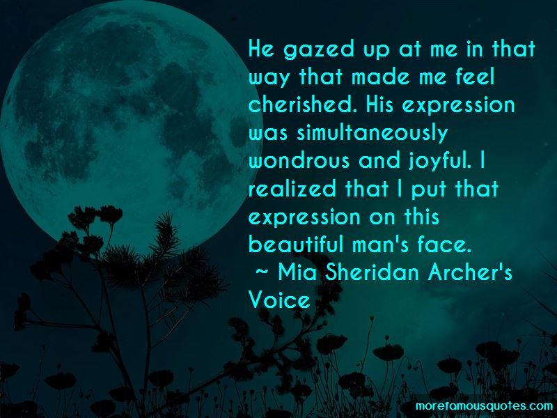 Mia Sheridan Archer's Voice Quotes