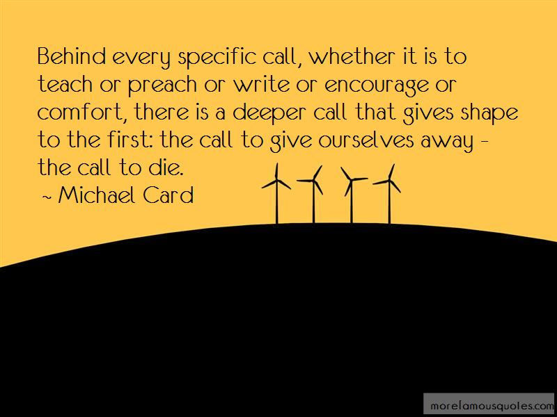 Michael Card Quotes